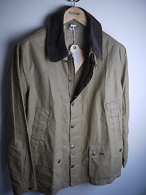 Barbour Men's Seadale Jacket, New With Tags, Stone, Large