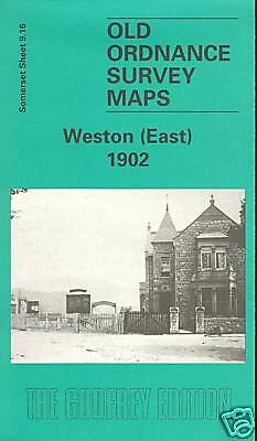 Old Ordnance Survey Map Weston East 1902