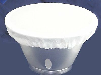 """One 7"""" White Diffuser Sock for Interfit Reflector NEW"""