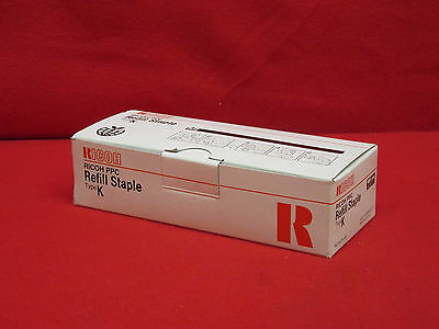 Genuine Ricoh PPC 502R-AM Type K Refil Staple *New/Sealed*