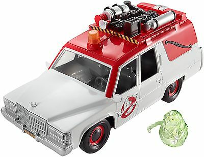 New Ghostbusters ECTO-1 Vehicle and Slimer Figure - Free Post!