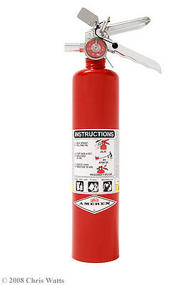 2.5LB ABC FIRE EXTINGUISHER w/ VEHICLE BRACKET