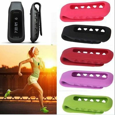 Rubber Holder Clip Case Replacement Cover Pouch for Fitbit One Smart Tracker