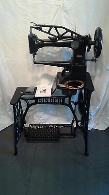 Singer 29-4  Industrial Sewing Machine,refurbished  Condition, Leather 1905