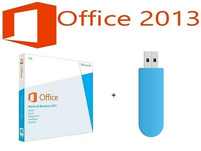Microsoft Office Home and Business 2013 - 32/64bit  Key Card
