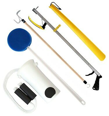 RMS 5-Piece Premium Hip Kit, Knee Replacement Kit (32 or 26 inches Reacher)