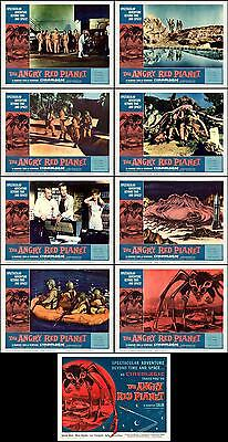 THE ANGRY RED PLANET COMPLETE SET OF 9 SCI-FI 8x10 LC prints 1959