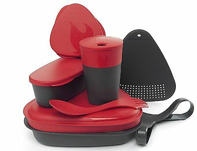 New Light My Fire Mealkit 2.0 Red/Gray Camping Gear LMF00686