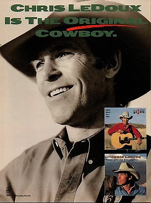 Chris LeDoux 1 Page Clipping