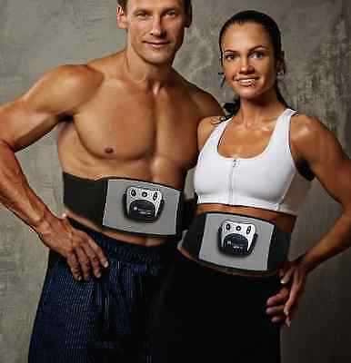 Abdominal Abs Toning Belt Toner Electrical Muscle Stimulator Exercise Fitness