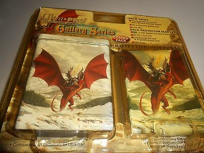 Factory Sealed Ultra Pro Gallery Series Deck Vault & Protector Sleeves Combo