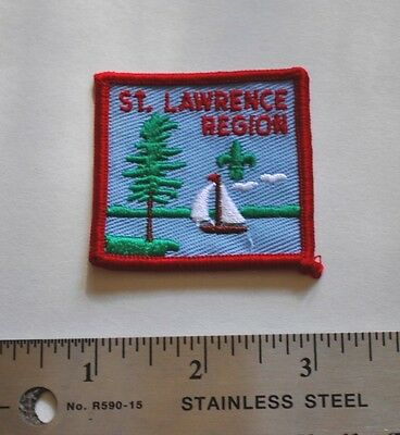 St. Lawrence Region, Boy Scouts Canada Badge, Patch, New