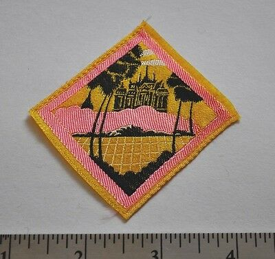 Oasis, Thailand, Asian, International, Boy Scouts Badge Patch, Silk