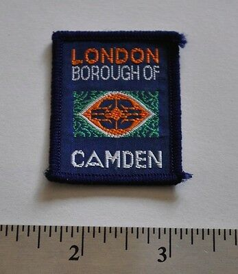 London Borough of Camden, England, UK, Boy Scouts Badge Patch