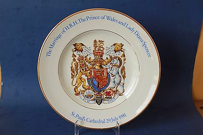 The Marriage of The Prince of Wales & Lady Diana , Wood & Sons plate.