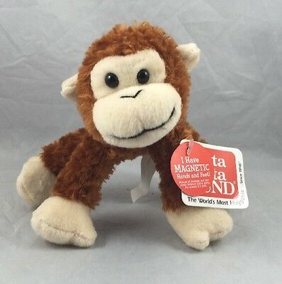 Spider Monkey Telus Magnetic Hands Gund Mobility Critter Animal Plush Toy New