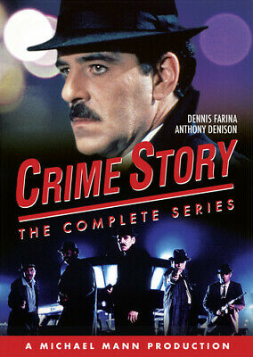 Crime Story: The Complete Series (2017, DVD NUOVO) (REGIONE 1)