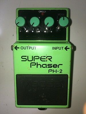 Free Ship Boss PH-2 Super Phaser Guitar Effect Pedal vintage Effecter 1994