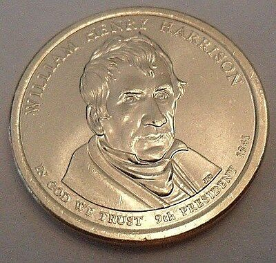 2009 D William Henry Harrison  Presidential Dollar Coin  **free Shipping**