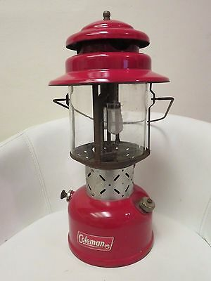 Coleman 200E Lantern - Red - Outstanding Condition 1954?