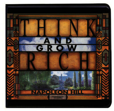 Think & Grow Rich - 12 DISC SET - Napoleon Hill (2015, CD NUOVO)