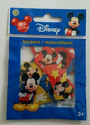 100 Piece Disney Mickey Mouse Sticker Flakes Crafts Sandy Lion Decals Cute