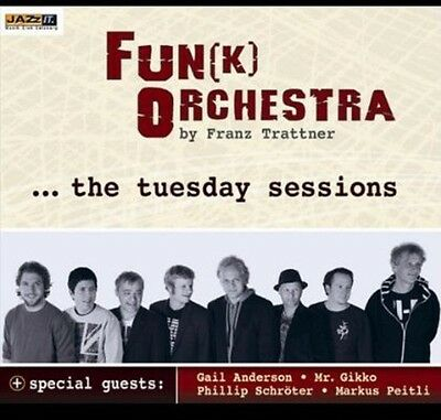 Tuesday Sessions - Jazzit Funk Orchestra (2012, CD NUOVO)