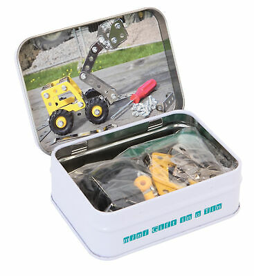 MINI GIFT IN A TIN - Micro Toys Kids Play Set Gift - Mini Mini Mechanic **NEW**