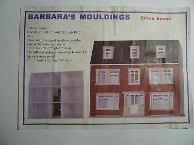 Barbara's Mouldings. Exton House kit