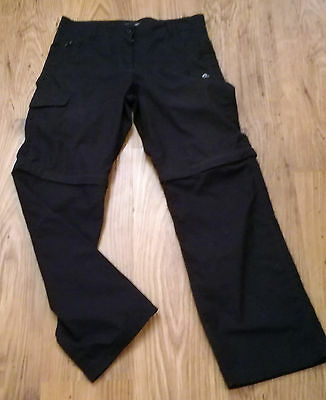 Craghoppers Ladies Active Walking Trousers/shorts combo. UK 10 *VGC*