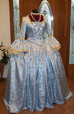 Marie Antoinette Colonial 18th Century Waltz Masquerade Victorian Dress Costume