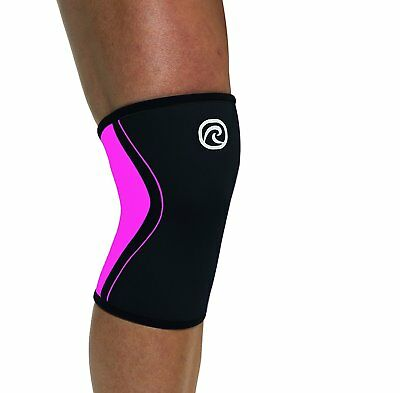 Rehband Rx Kniebandage 3mm RX line in pink, lila oder rot