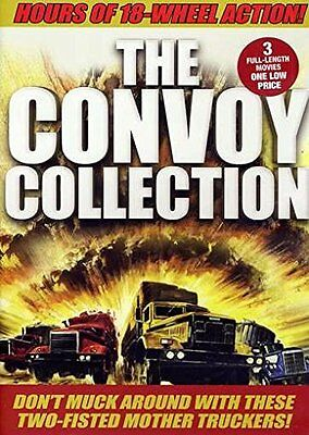 THE CONVOY MOVIE COLLECTION (3 films)   DVD - New & sealed PAL Region 2