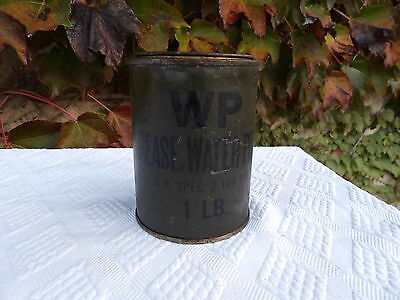 Boite ancienne  WP GREASE WATER PUMP USA spec 2-109 AM 2