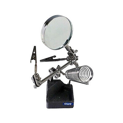 Soldering Station With Helping Hand And Magnifier 4X Jewelry Making Tools