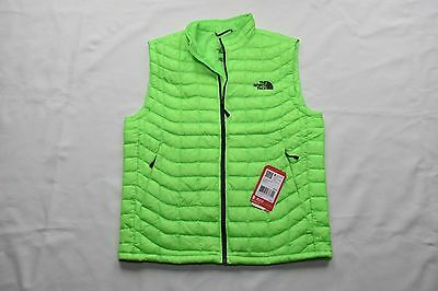 $149 North Face ThermoBall Running Packable Vest - Men's Neon Power Green Medium