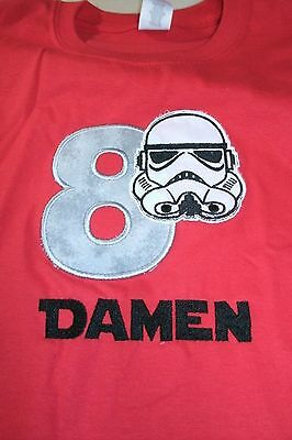 Star Wars Stormtrooper Personalized Birthday Shirt ANY NAME, NUMBER, COLOR