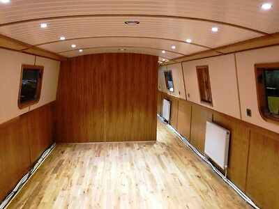 Brand New Sailaway Lined 60' x 12' Widebeam Canal Boat