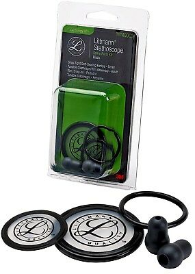3M 40003 Littmann Stethoscope Spare Parts Kit Cardiology III Black NEW GENUINE