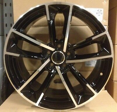 "18"" Ford ST Style Black Alloy Wheels Fit Ford Transit Connect Mondeo Kuga Focus"