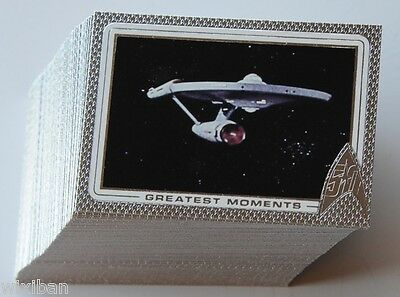 Star Trek 50th Anniversary 100 Card Base Set