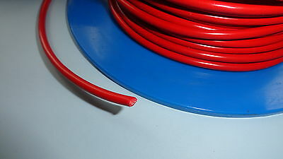 5m 42A Car Automotive Electrical Cable Wiring 4.5mm² RED