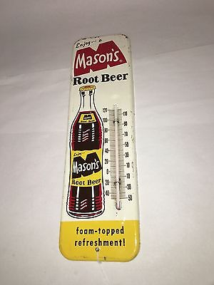 Mason's Root Beer Thermometer.  114-Y