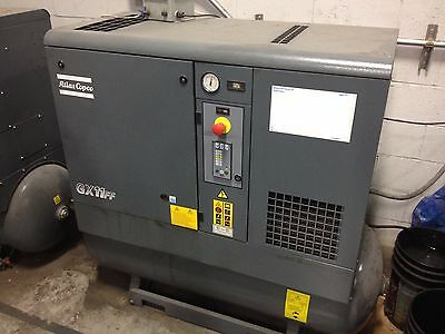 2008 Atlas Copco Gx11Ff Rotary Screw Air Compressor