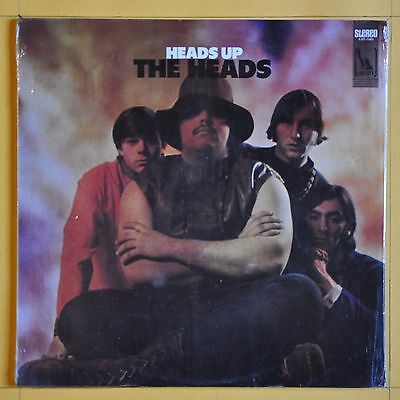 Original First Press  The Heads  Heads Up  Liberty LST 7581  United States  1968