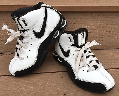 NIKE Shox Zoom Air Elite Flight Youth Basketball Shoes High Top Sneaker Size 6.5
