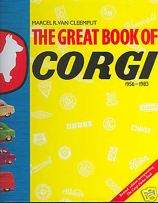 The Great Book Of Corgi  Lim. Edition +++ Lange Vergriffen / Out Of Print !!