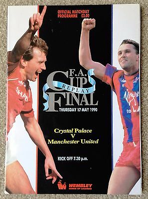 BRAND NEW / MINT FA Cup final replay Manchester United v Crystal Palace