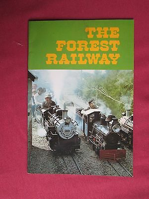 The Forest Railway John Southern (near Liskeard )16 colour pages  pb