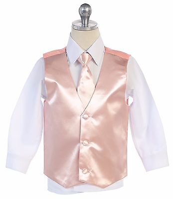 Men & Boy's Formal Vest & Necktie For Your Tuxedo Suit  Made in USA All Sizes
